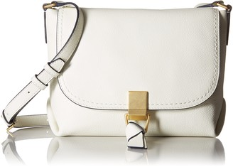 Vera Bradley Women's Leather Carson Crossbody Purse