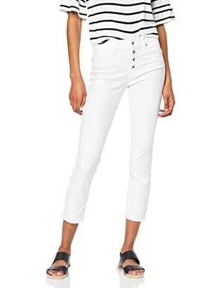 Tom Tailor NOS) Women's Kate Skinny Trouser, (White Denim 10101), 16 (Size: )