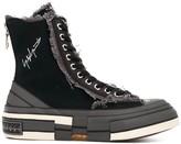 Yohji Yamamoto high-top platform sole sneakers