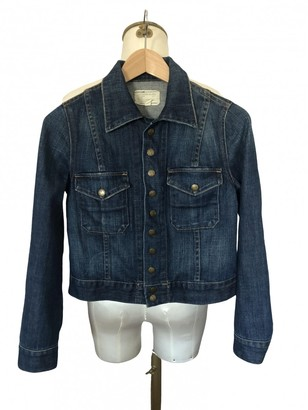 Current/Elliott Current Elliott Blue Denim - Jeans Jacket for Women