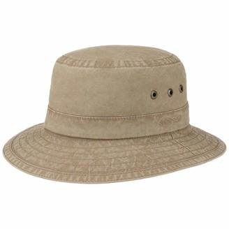 Stetson Reston Bucket Hat Women/Men - Fishers Holiday Summer Spring-Summer - XL (60-61 cm) Brown