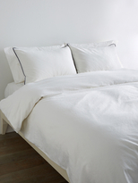 Melange Home Tipped Duvet Set