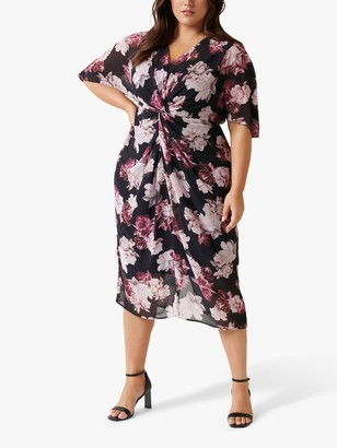 Forever New Curve Nora Dress, Winter Bloom