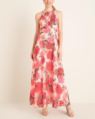Brinker & Eliza Floral Halter-Neck Maxi Dress__