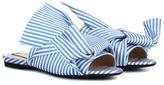 N°21 Striped Slip-on Sandals