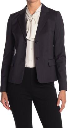 HUGO BOSS Jarana Rich Check Wool Suit Jacket
