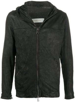 Giorgio Brato Hooded Long-Sleeve Bomber Jacket