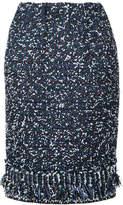 Coohem tweed pencil skirt