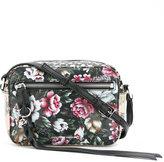 Alexander McQueen floral print camera bag