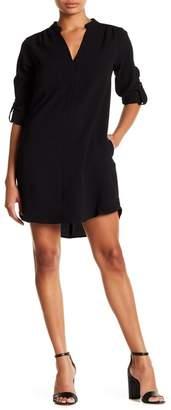 Lush Novak 3/4 Sleeve Shift Dress