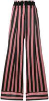 Ann Demeulemeester striped wide leg trousers