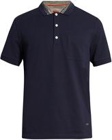 Missoni Patch-pocket short-sleeved polo shirt