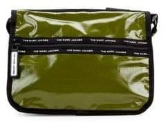 Marc Jacobs Olive Shine Messenger Bag