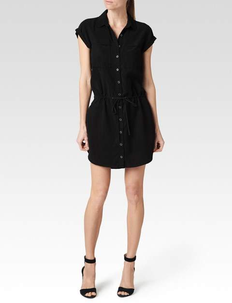 Paige Mila Dress - Black