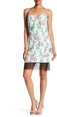 Adelyn Rae Printed Slip Dress