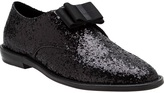 F-Troupe glitter bow loafer