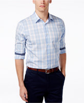 Michael Kors Men's Bronson Plaid Long-Sleeve Shirt