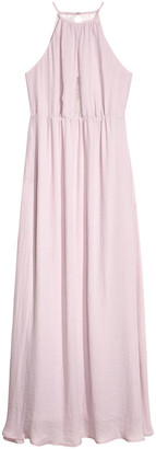 H&M Long dress with a lace back