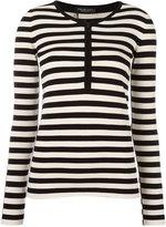 Twin-Set striped jumper