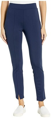 NYDJ Basic Leggings with Front Slit in Evening Tide (Evening Tide) Women's Jeans