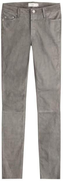Closed Skinny Suede Pants