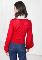 Billow Sleeve Sweater