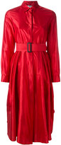 Max Mara flared belt dress