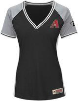 Majestic Women's Arizona Diamondbacks League Diva T-Shirt