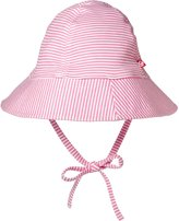 Zutano Candy Stripe Sunhat (Infant) - Hot Pink - 0-6 Months