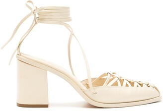 Nk Ankle-Tied Strappy Shoes