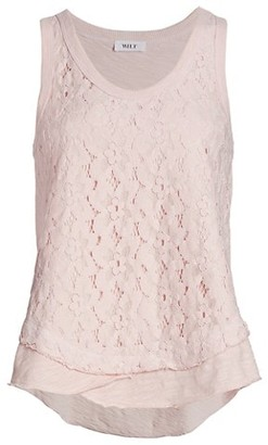 Wilt Lace Front Tiered Tank