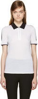 Rag & Bone Black and White Alice Polo