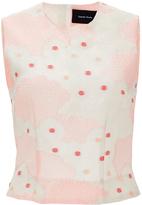 Simone Rocha Silk Cotton Blend Kimono Top