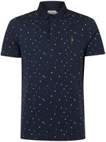 Farah Men's Jude Printed Polo Shirt