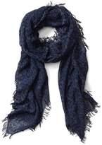 Gap Leopard fringe scarf