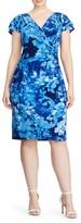 Lauren Ralph Lauren Plus Size Women's Sheath Dress