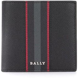 Bally Striped Bi-Fold Wallet