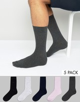 French Connection 5 Pack Socks