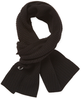 Fred Perry Men's Pique Wool Scarf