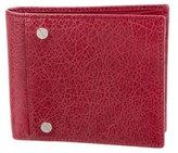 Balenciaga Arena Leather Wallet