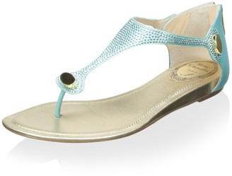 Rene Caovilla Women's Flat Sandal