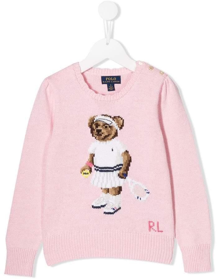 e1619d08d Ralph Lauren Baby Girls Bear - ShopStyle