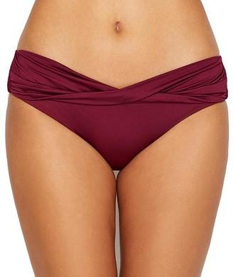 Mossimo Color Splash Draped Bikini Bottom