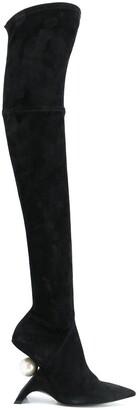 Nicholas Kirkwood Jazzelle over-the-knee boots