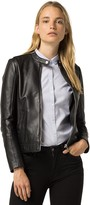 Tommy Hilfiger Modern Leather Moto Jacket