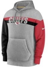 Nike Kansas City Chiefs Men's Wordmark Heritage Hoodie