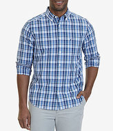Nautica Long-Sleeve Large Plaid Classic Fit Shirt