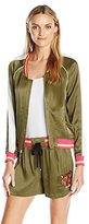 Juicy Couture Black Label Women's Sw Viva La Tiger Jacket