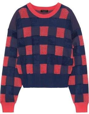 Rag & Bone Ridley Gingham Terry Sweater