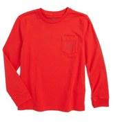 Vineyard Vines 'Vintage Whale' Graphic Long Sleeve T-Shirt (Toddler Boys & Little Boys)